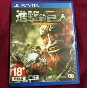 ATTACK ON TITAN (CHINESE) - PS Vita Game