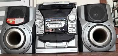 Midi Hi Fi SHARP with AIWA speaker