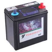 Car battery bateri yokobatt mf NS 40 OCT 2018