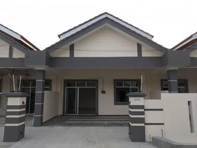 Single Teres rumah baru di Taman Melati, Jalan Junid