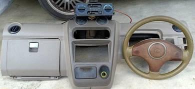 Dashboard dan steering kancil