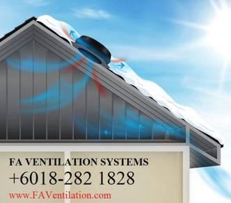 FA-PAHANG Solar Powered Roof Ventilator GERMANY