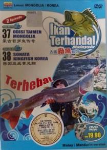 DVD Ikan Terhandal Lokasi Mongolia Korea