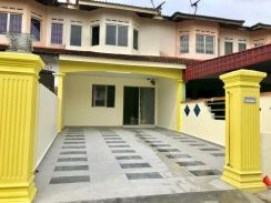 Double storey Low medium cost Pulai indah