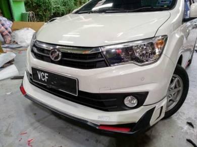 Perodua bezza 68 body kit WITH PAINT