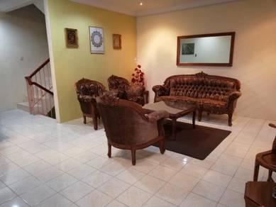 Double Storey with basement at Tmn Bernam Baru, Tg