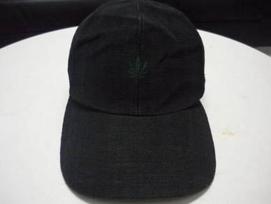 Topi Marjuana leaf Logo Sulam Kecik Cap