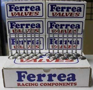 Ferrea Series 5000 Flat Valves - Honda K20A B18C