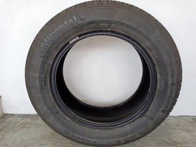 Car tyre/tayar Continental