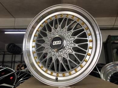 BBS RS Design 16x7 Sport Rim NEW 8h100/114.3