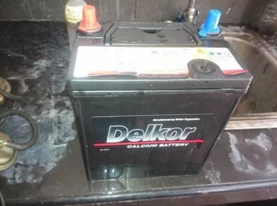Battery ns40zl.DELKOR KOREA
