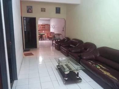 Single Storey Terrace Intermediate House At Desa Wira Batu Kawa