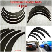 Fender flare wide arches stance body kit lip