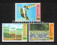 Mint Stamp Toning Forestry Malaysia 2001