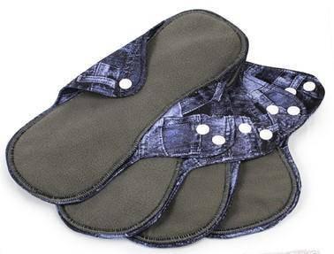 Lady Organic Sanitary Pad 23cm - Jeans
