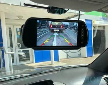 Kamera Kenderaan Depan Belakang, Monitor Headrest