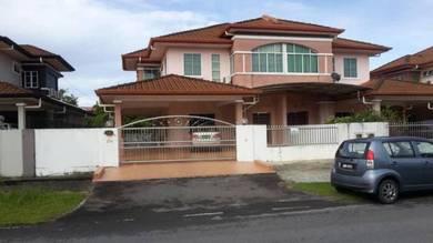 Double Storey Semi Detached House near Poh Kwong Park, Kuching