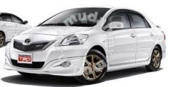 Toyota vios 2009 trd bodykit abs with paint