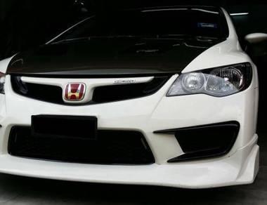 Honda Civic FD Feel Js Mugen front lip