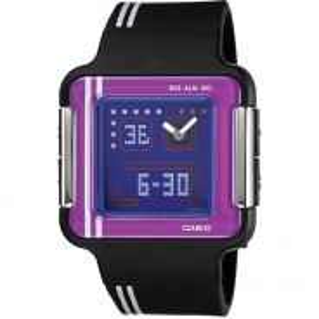 Casio POPTONE Ladies Analog Digital Watch LCF-21-1