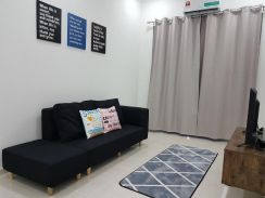 Fully Furnished New Terrace House Near Kemasik Kerteh Paka Mesra Mall