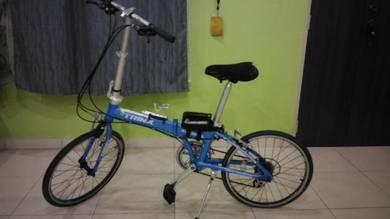 Folding bike basikal lipat