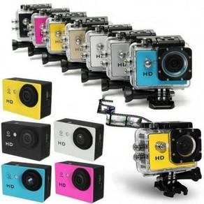 Go Action Cam Pro Kamera Sukan Lasak Waterproof