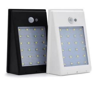 Solar 24-LED Street Wall Sensor Light Lamp