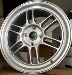 Sport rim Enkei RPF1 17x8JJ 4x114.3mm New