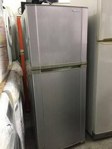 Grey Fridge Ice Refrigerator Samsung Peti Sejuk