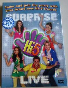 DVD Hi-5 SURPRISE LIVE DVD (Australia Series)