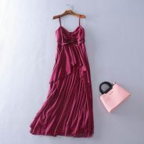 Bodyflirt Red wine maroon dinner prom dress