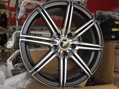 Sport Rim AD Wheels Taiwan Design 17 Inch NEW