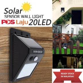 Solar 20 Leds Motion Sensor PIR wall light Outdoor