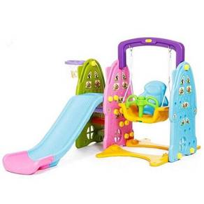 NEW MODEL KOREAN KIDS 3 in 1 Colourful Playground