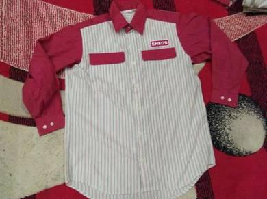 Eneos staff shirt long sleeve size m 2