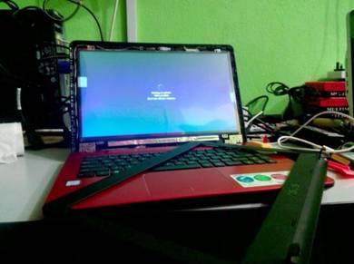 Perkhidmatan Tukar Skrin Laptop Pelbagai Model