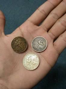 Syiling lama Rm1 ringgit 1992