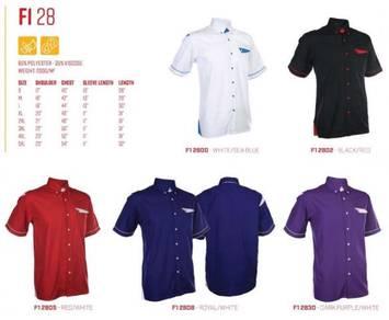 3pcs Unisex Corporate Shirt,F1 Uniform,Blouse F128