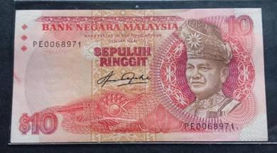 Wang Kertas RM10 Siri 5 Aziz Taha PE0068971