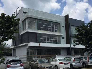 3-Storey CORNER Semi D Factory at i-Parc 1, Bukit Jelutong for SALE