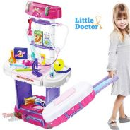 3in1 Little Doctor Set +Luggage Style+Music Light