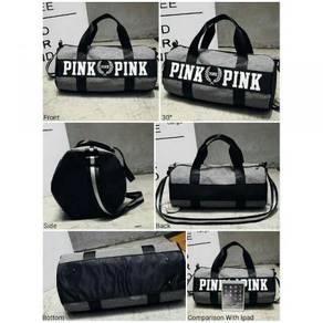Grey Duffel Gym Bag slingbag