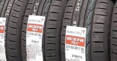 Tayar 215 50 17 Kumho PS31 tyre