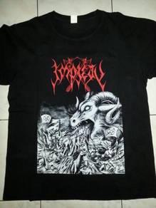 Impiety Asian Worshippers 2011 Tour Shirt