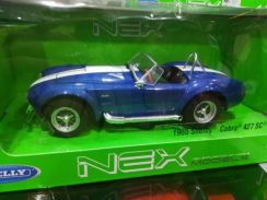 Welly nex 1965 shelby cobra scale 1/24