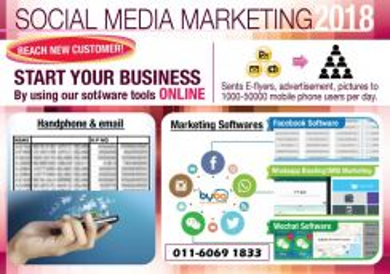 Social Media & Handphone Marketing