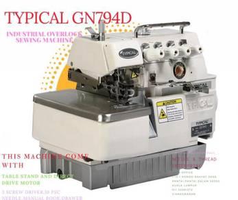 Mesin jahit tepi 4 benang typical gn794d 348951605