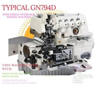 Mesin jahit tepi 4 benang typical gn794d 987984856