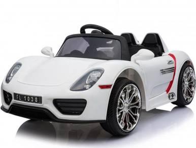 Kereta Mainan Elektrik Design Porsche Siap Remote